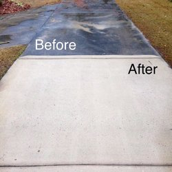 Before and After Sidewalk